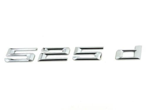 Genuine New BMW 525d BOOT BADGE Emblem 5 Series F10 2009-2016 XDrive Saloon