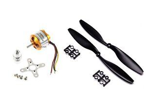 M01B-2212-1000Kv-Brushless-Outrunner-Motor-1045-Prop-schwarz-Quadcopter-F450