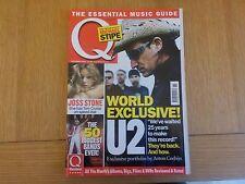 Q MAGAZINE ISSUE 220 NOVEMBER 2004 U2, R.E.M., THE HIVES, THE CLASH, JOSS STONE