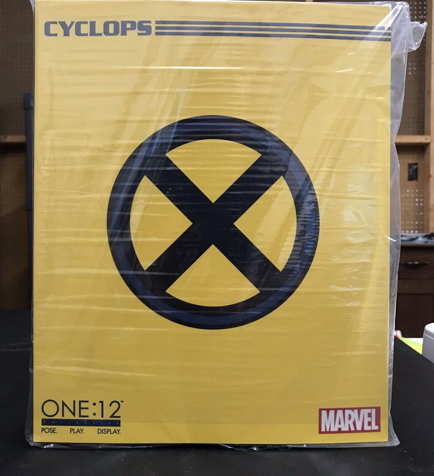 Mezco Spielzeugz Marvel X-menschen Cyclops One 12 Collective Wirkung Figure New Meerled