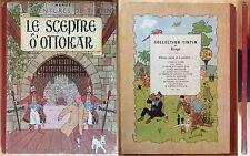 TINTIN Le Sceptre d'Ottokar B1 EO 1947 Bon état