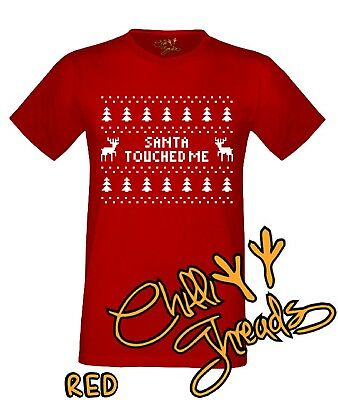 Day Xmas T-shirt Vest Tshirt I Hope Santa Empties His Sack On You Christmas