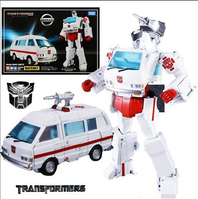 Takara Tomy Transformers Masterpiece MP-30 Ratchet Nissan Cherry Vanette Figure
