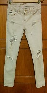 PULL & BEAR JEANS STRAPPATO DONNA EUR 38   eBay