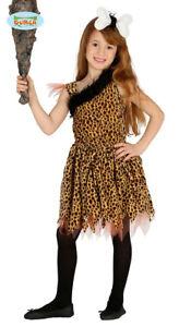 GUIRCA-Costume-primitiva-cavernicola-troglodita-carnevale-bambina-mod-8754