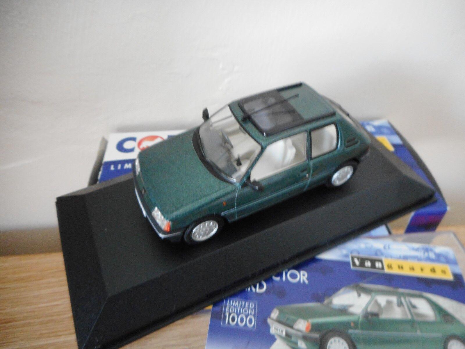 Vanguards Corgi VA12704 Peugeot 205 Roland Garros Green