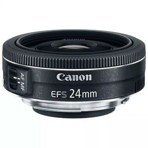 CANON-EF-S-24mm-f-2-8-STM-Pancake-Lens-for-750D-1300D-4000D-200D-80D-2000D-700D