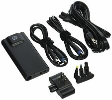 HP - 65W Slim AC Adapter for Select HP Laptops - Black Interchangeable Tips NEW