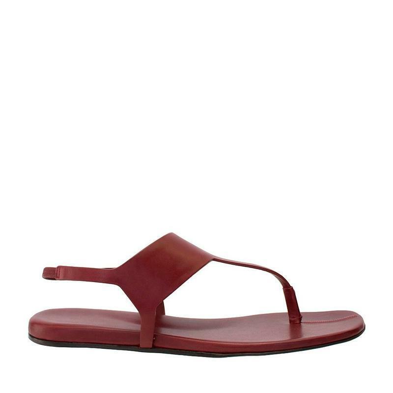 sin mínimo Carritz (rojo oscuro) oscuro) oscuro) De Cuero Sandalia de tanga  marca en liquidación de venta