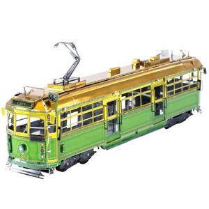 Fascinations-Metal-Earth-Melbourne-W-Class-Tram-3D-Laser-Cut-Steel-Model-Kit