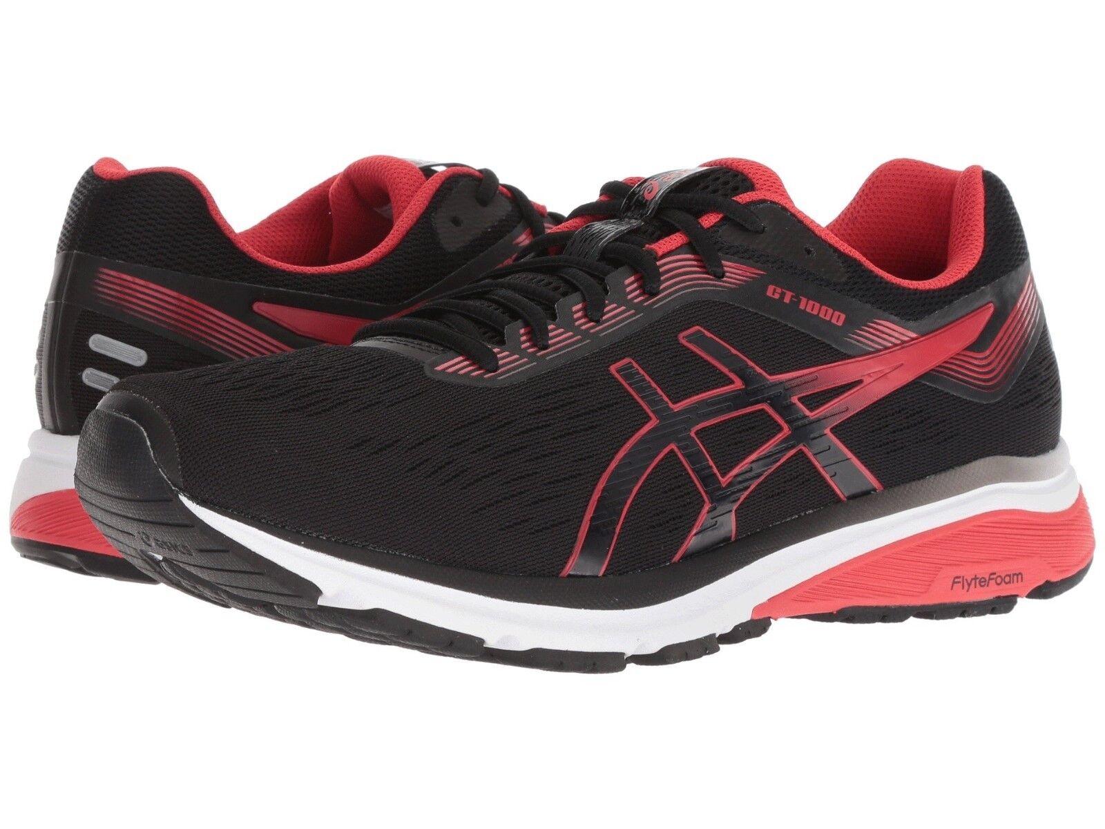 Asics - Men GT 1000 7 Running Shoes Sneakers, Black D) Red Alert Medium (M, D) Black 1acb1c