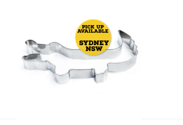 Cookie Cutter Crocodile Stainless Steel