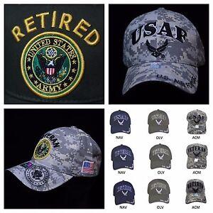 0cd323944f1 Men s Cap U.S. Air Force US Army US Veteran US Retired Caps Military ...