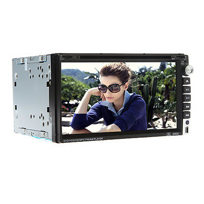 "In-Dash Universal Car DVD Stereo Player CD Autoradio Double 2Din 6.95""inch BT TV"