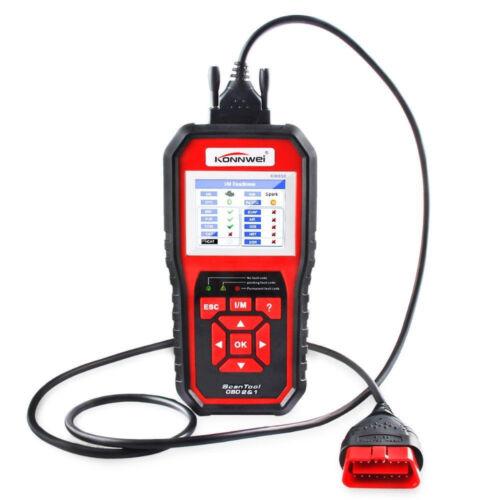 KW850 OBDII OBD2 EOBD Car Automotive Engine Fault Code Reader Diagnostic Scanner