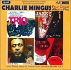 Four Classic Albums: Blues And Roots/Mingus Three: Trio/Jazz Portraits/Jazzical Moods, Vol. 1 by Charles Mingus (CD, Apr-2011, Avid Records)