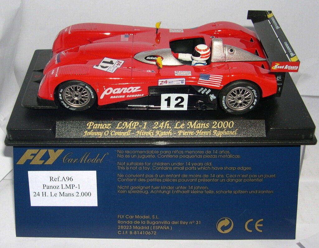 FLY A97 PANOZ LMP-1 H LEMANS 2000 J.OR ' CONNELL-KATOH-PIERRE-RAPHANEL MB