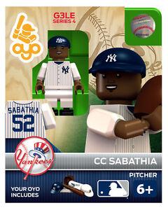 NEW YORK Yankees MLB Génération Série 2 3 CC Sabathia figurine