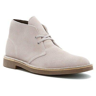 Clarks Men's Bushacre 2 Boots Grey Suede Style # 00116