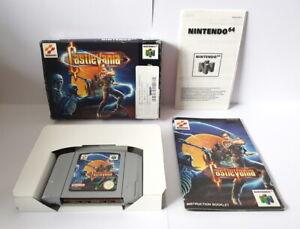 Castlevania N64 Completa Buenas Condiciones