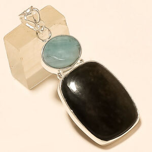 Natural-African-Snakeskin-Jasper-Pendant-925-Sterling-Silver-Fine-Jewelry-Gifts
