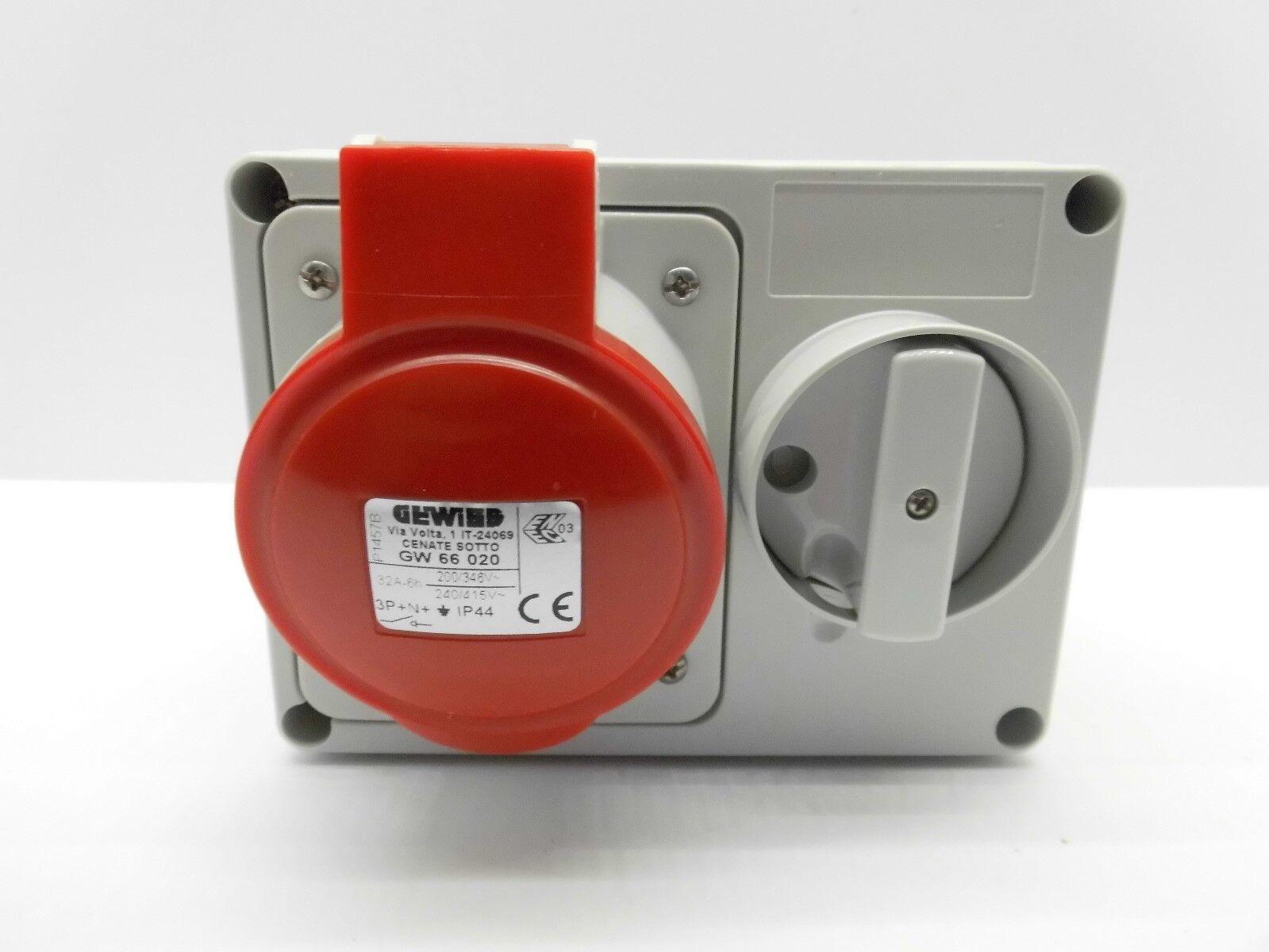 Gewiss 66020 32 Amp Interlock