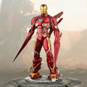 Avengers-Iron-Man-Mark-50-S-H-Figuarts-MK50-Nano-Style-Weapon-Action-Figure-New