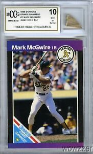 1989-Donruss-GS-7-Mark-McGwire-Hidden-Treasures-GAME-USED-BAT-BECKETT-10-MINT