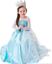 Indexbild 22 - Kinder Mädchen Prinzessin Kleid Cosplay Kostüm Elsa Belle Anna Cosplay Party DE