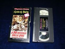 VHS A 30 SECONDI DALLA FINE - 1991
