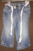Next baby girls jeans aged 6 / 9 mths