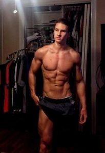 Shirtless Male Beefcake Muscular Masculine Hot Jock Nice