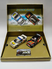 Scalextric Rallycross Ford RS200 & Metro 6R4 1/32 Scale Slot Cars C3267A
