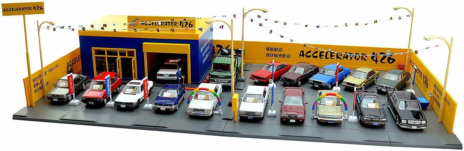 Tomi Carama vintage 04c 1 64 Used car store Axel 426 For mini car ABS resin F S