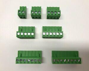 5.08mm Phoenix Contact PCB Terminal Block Phoenix Connector 2//3//4//5//6//7//8 Pin