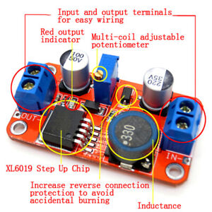 5A-DC-DC-step-up-power-module-boost-volt-converter-3-3V-35V-to-5V-6V-9V-12V-24V