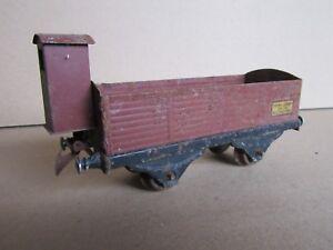 335F-Vintage-Hornby-Meccano-Wagon-Rancher-avec-Guerite-O-1-43-5
