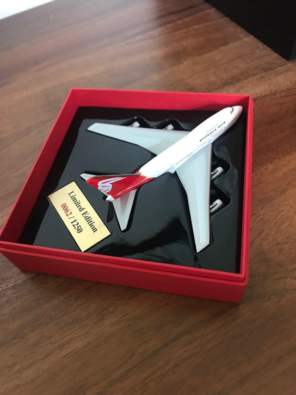 Herpa Ltd Edit Rare Airline AustraliaAsia Airlines (qantas) 747SP 1 500 VH-EAB