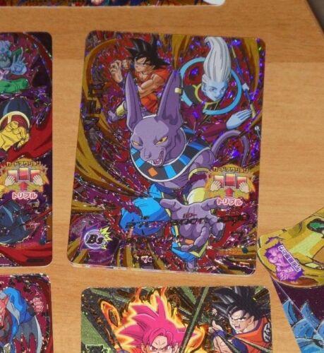 DRAGON BALL Z GT DBZ DBS HEROES GOD MISSION CARD PRISM CARTE HGD6-CP8 JAPAN NM