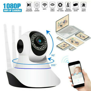 1080P Camera Wireless 360° Panoramic WiFi Security HD Audio Home In/Outdoor