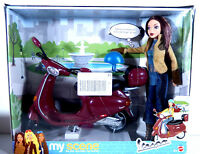 Barbie Doll My Scene 2003 Madison Red Vespa Motorcycle Scooter