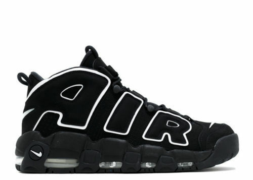 2016 Nike Air More Uptempo OG Black White size 12. Scottie Pippen. 414962-002.