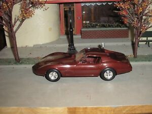 Very Nice Vintage 1//24 Factory Promo 1979 Chevy Corvette Red with factory box