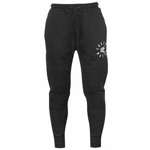 No-Fear-Custom-Moto-X-Biker-Sweatpants-Mens-Black-Skate-Clothing-Track-Pants