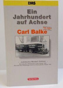 Ein Jahrhundert auf Achse Carl Balke Sonderedition DMS Wiking 1 : 87 OVP (NO) - Düsseldorf, Deutschland - Ein Jahrhundert auf Achse Carl Balke Sonderedition DMS Wiking 1 : 87 OVP (NO) - Düsseldorf, Deutschland