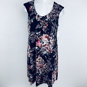 Connected-Apparel-Stretch-Women-Dress-Size-14-New-With-Tags