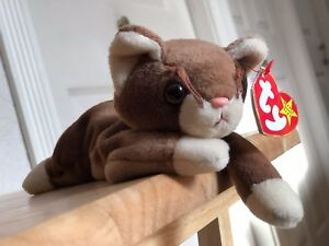 7d7d7861e22 Image is loading POUNCE-Beanie-Baby-cat-RETIRED-TY-1997