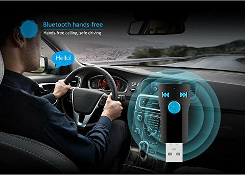 Car//Home//Outdoor USB BTReceiver Adapter 3.5mm Receiver/&Adapter Speakers