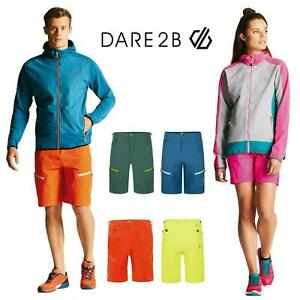 Dare2b Tuned In Mens Melodic Womens Water Repellent Multi Pocket Shorts Walking