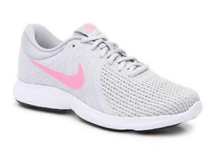 3f7382b1bc63c NIKE Revolution 4 Gray Women s Running Shoes Athletic Sneakers ...
